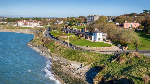 Number 1 Martello Terrace, a former Coastguard Station in Sutton, sought €995,000 in November 2016, and sold in April for €1.216 million