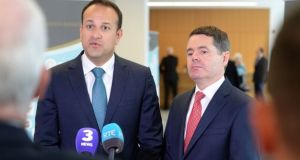 There's just six days to  left until Leo Varadkar and Paschal Donohoe announce their first budget as Taoiseach and finance minister respectively. Photograph: Dara Mac Dónaill