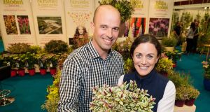 Tully Nurseries managing director Padraig Tully with his sister  Niamh who handles the marketing side of things for the company. The family-run business found new revenue streams after the financial crash. Photograph: Joe Keogh