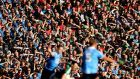 Mayo supporters stuck with their team, and travelled with them through 10 games this year. Other counties could experience something similar next year. Photograph: Ryan Byrne/Inpho