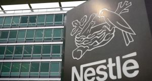 The Irish arm of global food group Nestlé turned an operating profit of €950,000 in 2016. Photograph: Fabrice Coffrini/EPA Photo