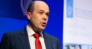 Minister for Communications Denis Naughten has warned local authorities not to impose development charges for telecommunications work.  Photograph: Maxwellphotography.ie