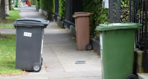 A woman who put a flaming piece of paper through her neighbour's letterbox due to a dispute about bins has received a partly suspended sentence. File photograph: Cyril Byrne/The Irish Times