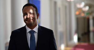 Leo Varadkar: Budget 2018 gives the Taoiseach a megaphone to use on voters. Photograph: Dara Mac Dónaill A hefty 45 per cent say Leo Varadkar has had a positive impact, against just 14 per cent who view his impact negatively. Photograph: Dara Mac Dónaill
