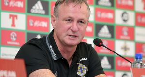 Michael O'Neill: his side have kept seven clean sheets in their qualifying group and haven't lost a competitive game at home in four years. Photograph: Charles McQuillan/Getty Imagese