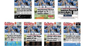 The Gazette is shrinking down the number of local editions to four