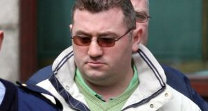 Declan Duffy has pleaded guilty at the Special Criminal Court to assaulting one man and falsely imprisoning another. File photograph: Gary Fox/Collins.