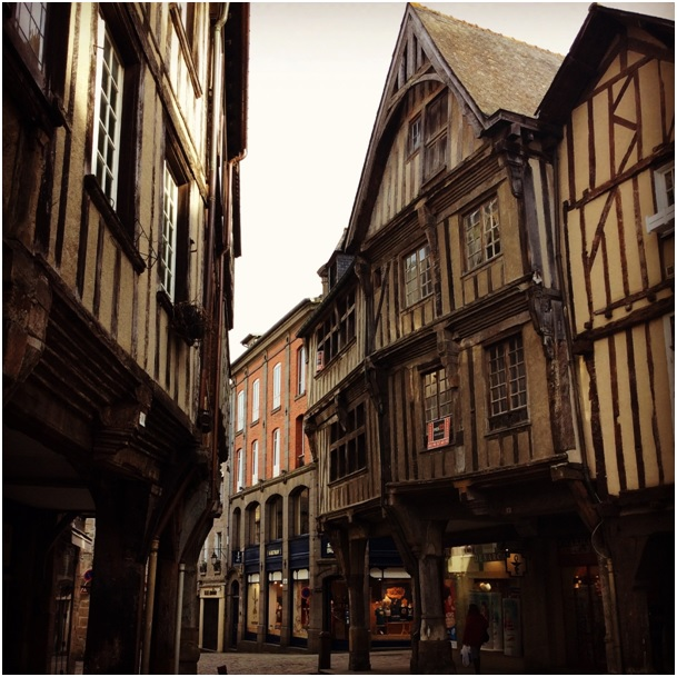 The historical centre of Dinan is worth a daytrip.