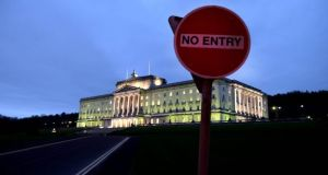 The falloout from the potential Renewable Heating Incentive overspend led to the collapse of Stormont's powersharing administration at the start of the year. Photograph: Charles McQuillan/Getty Images.