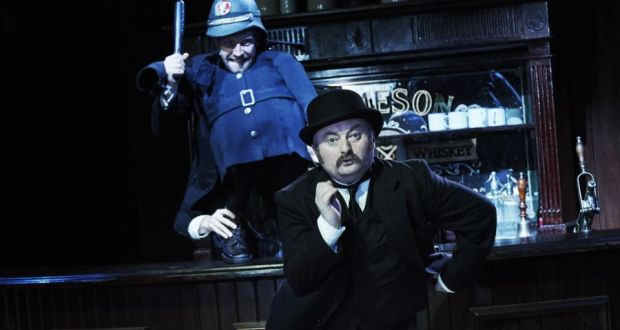 20eca514e2a4 Donal Gallery (Policeman) and David Pearse (Leopold Bloom) in James Joyce s  Ulysses