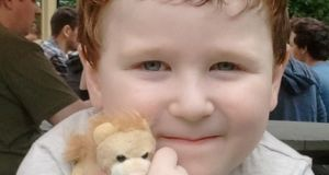 Luke O'Donovan, the six-year-old  who was killed in a traffic accident at Ballymacoda in Co Cork. Photograph:  Provision.