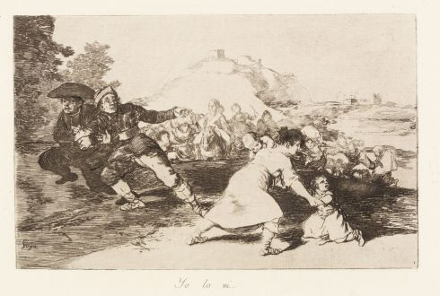 Francisco Goya (1746-1828) - I saw it (Yo lo vi)