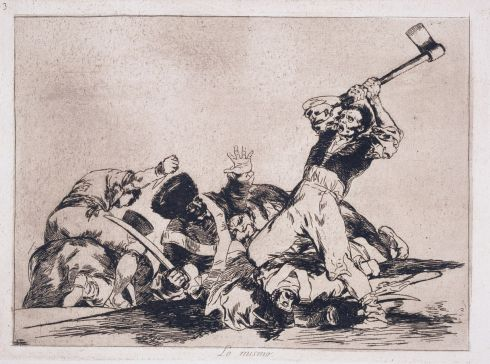 Francisco Goya (1746-1828)  - The same [thing] (Lo mismo)