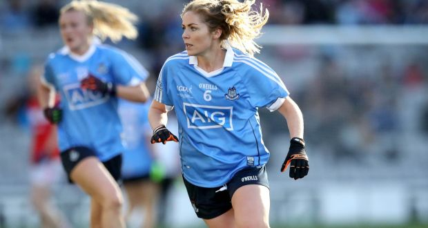 """Sinead Finnegan  """"Ladies football is still kind of a young enough sport.  There s 34e5406f08"""