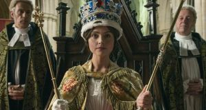 Jenna Coleman as Victoria in the ITV drama of that name