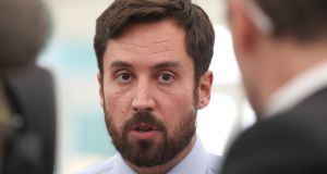Minister for Housing Eoghan Murphy said he would lift the 'numerical height caps'  in city cores and along key public transport corridors.  File photograph: Niall Carson/PA Wire