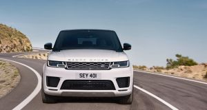 The new  Range Rover Sport P400e is powered by a 300hp turbocharged 2.0-litre petrol four-cylinder engine and a 116hp electric motor