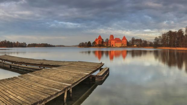 Trakai Historical National Park in Lithuania