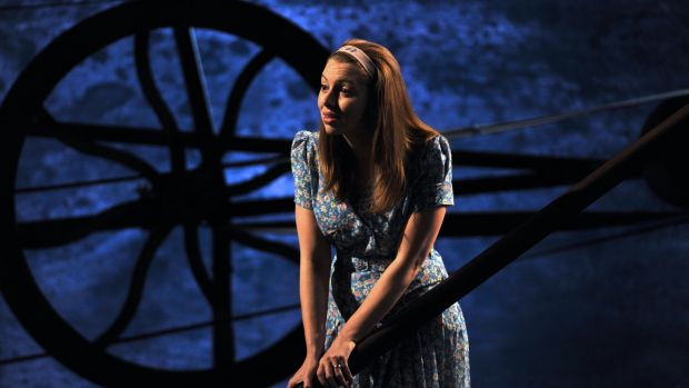 Seána Kerslake as Tressa in The King of the Castle by Eugene McCabe