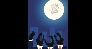 One study found that returns are lower around full moons, with the magnitude of the difference being 3-5 per cent per year. Illustration: iStock