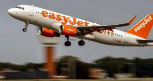 EasyJet will be keen to fill the vacuum left by Monarch at locations including Luton and London's Gatwick airport. Photograph: Philippe Huguen/AFP/Getty Images