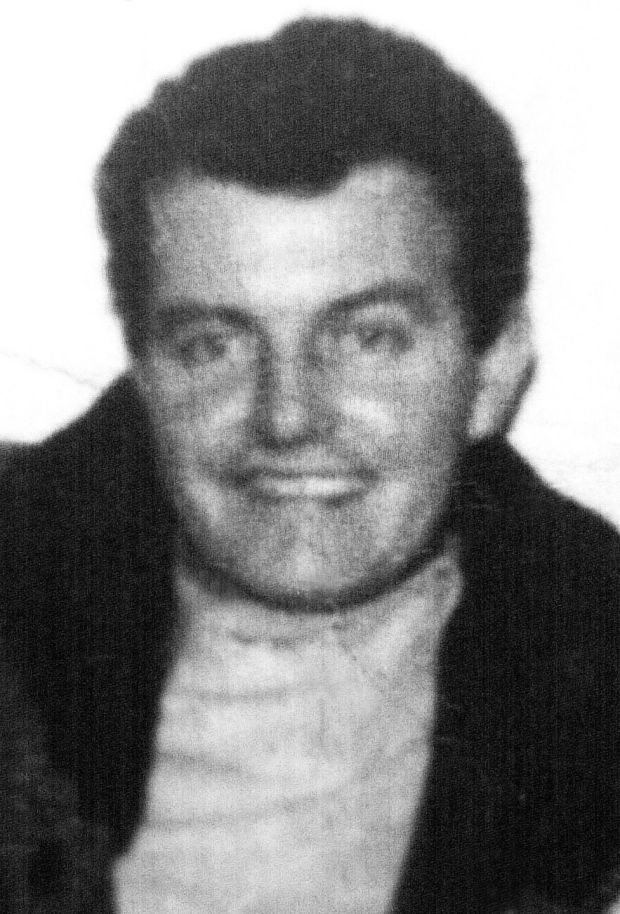 Patrick Doherty who was 31 years old when shot dead on Bloody Sunday.