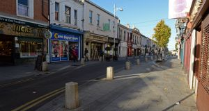 Overhead potential? Dún Laoghaire's George's St. Photograph: Eric Luke