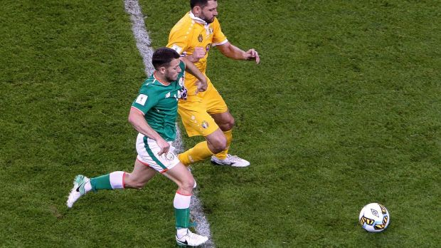 Wes Hoolahan is unlikely to start against Wales. Photograph: Gary Carr/Inpho