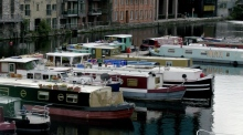 What is it like to live on a houseboat in Grand Canal Dock?