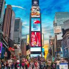 The suspects allegedly planned to target Times Square. File photograph: iStock