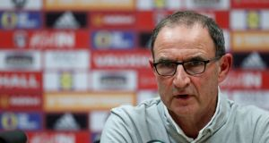 Martin O'Neill: has managed to coax a big performance from his side on previous occasions when the chips were down. Photograph: John Sibley/Reuters