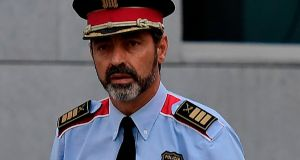 Josep Luis Trapero, chief of the Catalan police Mossos d'Esquadra. Photograph:  AFP/Getty Images