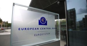 "The European Central Bank has signalled that about 45 per cent of the euro-area's biggest 111 banks may be forced to hold more capital in reserve to deal with risks as a result of a ""shock"" interest rate increases."