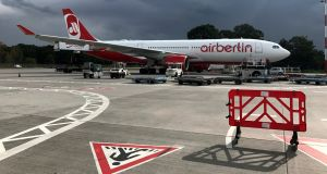 Air Berlin told staff they would not all find jobs with the potential buyers of its assets and they should start looking for jobs. Photograph: Pawel Kopczynski/Reuters
