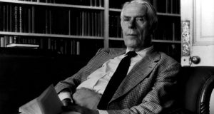 Pictured in 1986 is British writer and novelist Anthony Powell