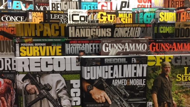 Magazines on a newsstand in Seattle this week.