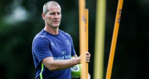 "Stuart Lancaster: ""My aim is . . . trying to do the right thing on a daily basis, trying to do the right thing for Leinster, trying to improve the players, to improve the environment."" Photograph: Gary Carr/Inpho"