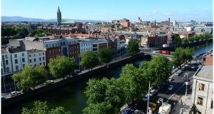 The cost of living in the Irish capital does not diverge significantly from cities such as Amsterdam, Brussels, Frankfurt, Luxembourg and Paris. Photograph: Bryan O'Brien / The Irish Times
