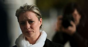 Maíria Cahill, above, and two other women alleged they were sexually abused by IRA member Martin Morris when they were in their teens. Photograph: Brian Lawless/PA Wire