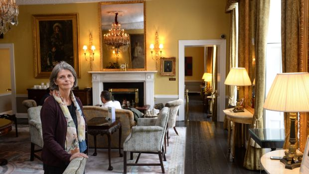 Alice Roden, designer at The Merrion Hotel, Dublin. Photograph: Dara Mac Dónaill/The Irish Times