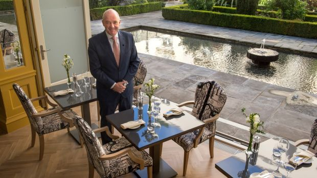 Peter MacCann, general manager at The Merrion Hotel. Photograph: Dara Mac Dónaill/The Irish Times