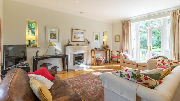 Reception room: Corrybeg House has a 315sq m (3,400sq ft approx) floor area with five bedrooms (three en suite), three reception rooms, kitchen/breakfastroom and large utility area.
