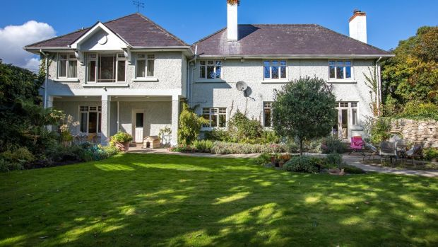 Rear of Corrybeg House, Templeogue, which is seeking €1.5 million through DNG.