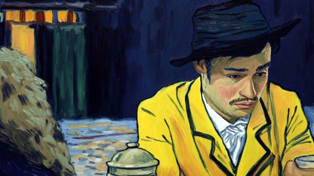 Image result for yellow coat vincent van gogh