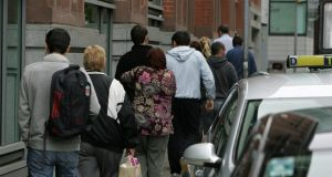 Jobseekers under 26, who are on reduced rates, will receive the €5 increase. Stock photograph: Frank Miller