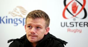 Dwayne Peel is hoping Ulster get off to a strong start against Wasps on Friday. Photograph: Jonathan Porter/Inpho