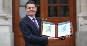 The budget delivered by Minister for Finance Paschal Donohoe was cleverely constructed from a political point of view, raising revenue largely from the business sector and tobacco and using it to increase spending and reduce taxes on income. Photograph: Niall Carson/PA Wire