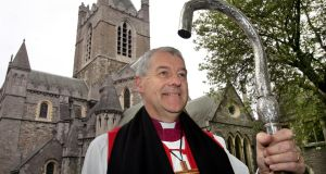 Archbishop  Michael Jackson:  Photograph: 'We were told two years ago that what happened to Jonathan Corrie would never happen again.' Photograph: Matt Kavanagh / THE IRISH TIMES