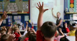 The investment in employing more teachers will bring the pupil-teacher ratio at primary level to the lowest ever level recorded of 26:1. File photograph: Dave Thompson/PA Wire