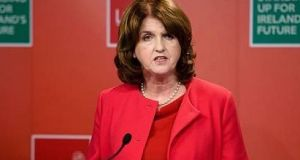 Joan Burton: she said depending on commercial property stamp duty revenues to pay for tax cuts and permanent spending increases was simply repeating the mistakes of the past